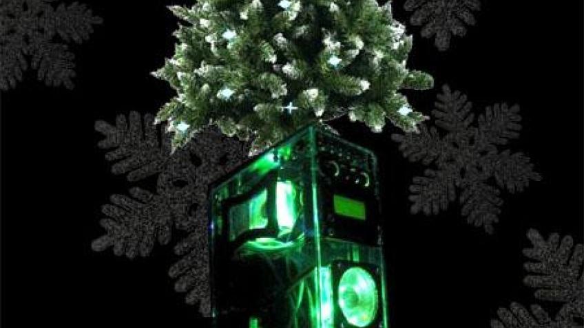 Новогодний моддинг-конкурс
