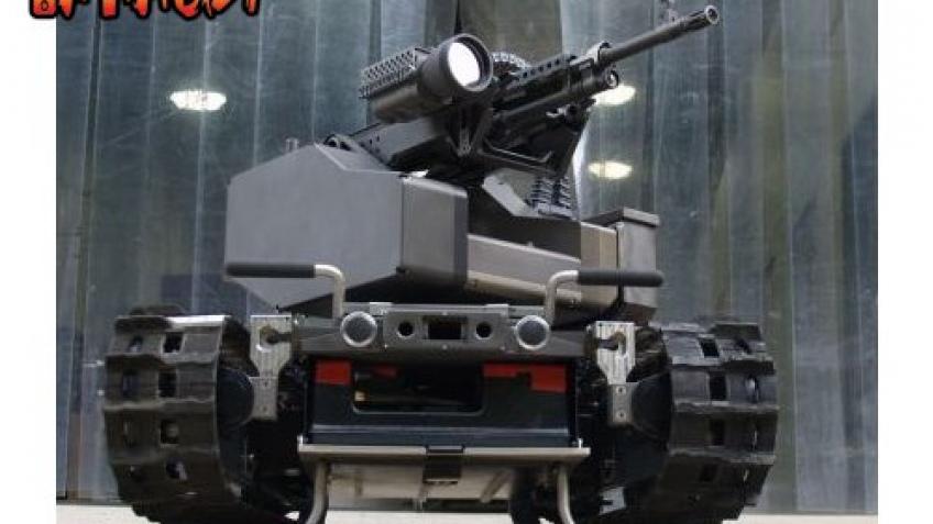 Боевые роботы на страже границ