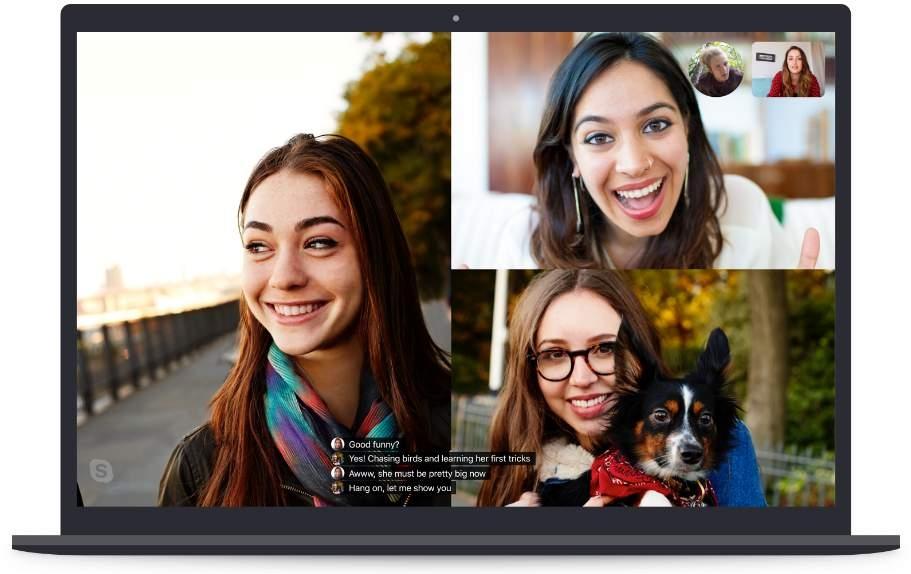 В Skype добавят субтитры