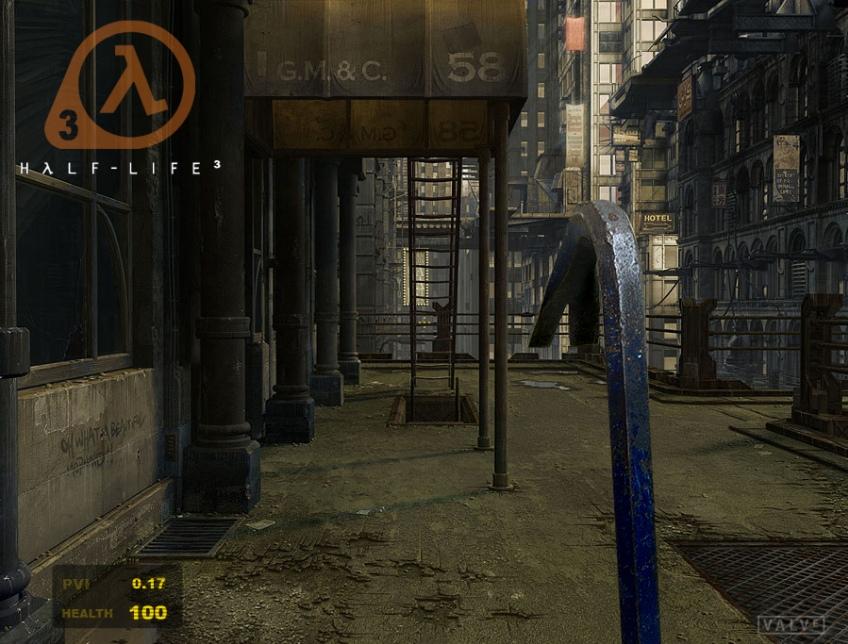В базе Steam появилась поддельная страница Half-Life3