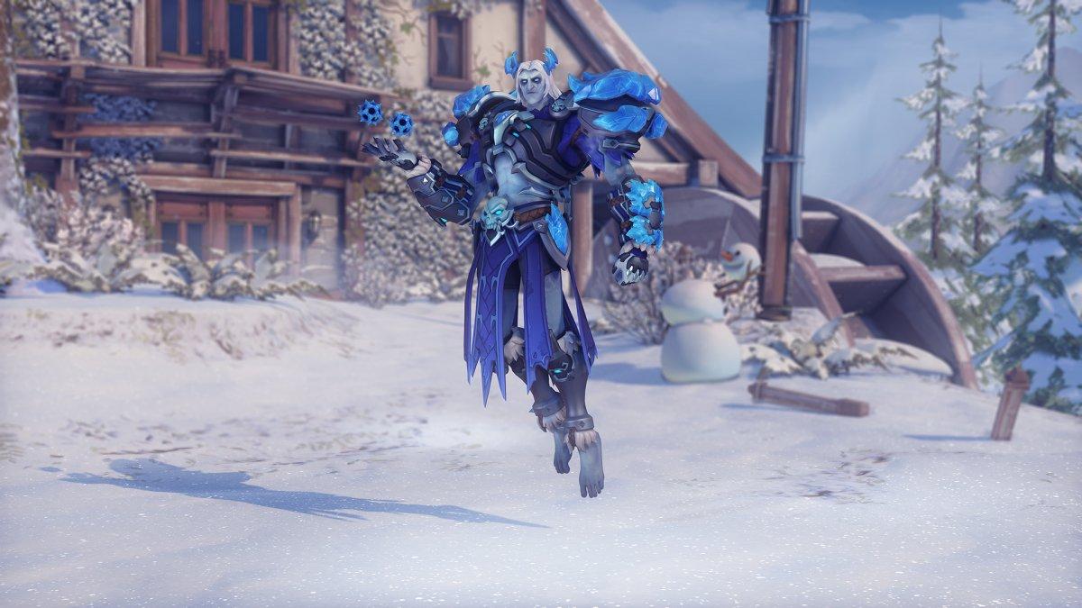 В Overwatch стартовало новогоднее событие «Зимняя сказка»