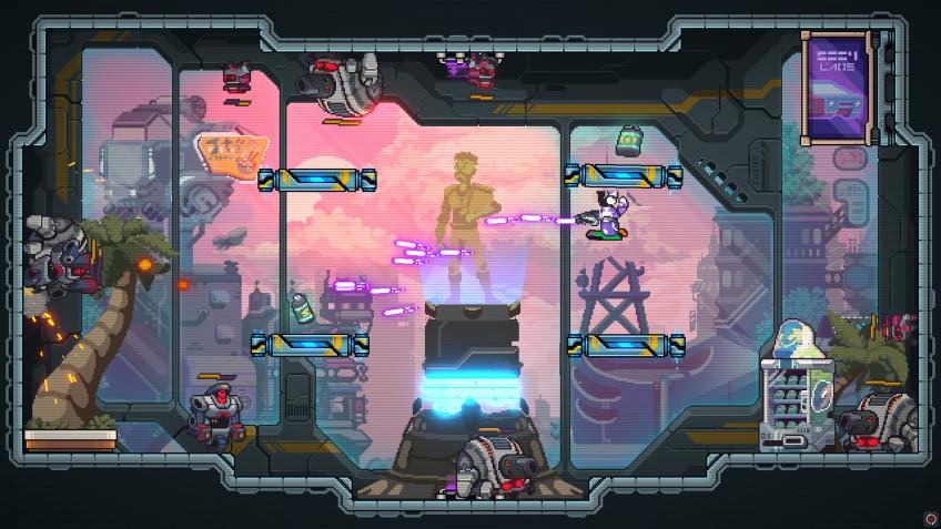 Аркадный боевик Gravity Heroes вышел в Steam