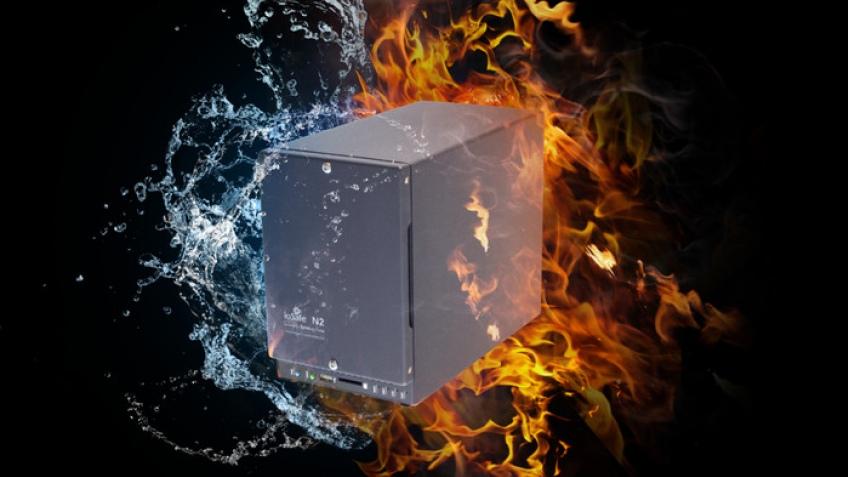 ioSafe N2: в воде не тонет и в огне не горит