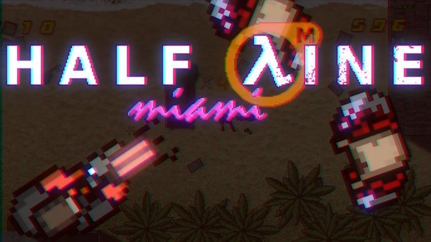 Вышел любительский кроссовер Hotline Miami и Half-Life2