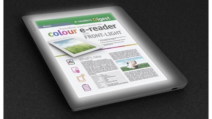 PocketBook готовит ридер с цветным дисплеем и подсветкой