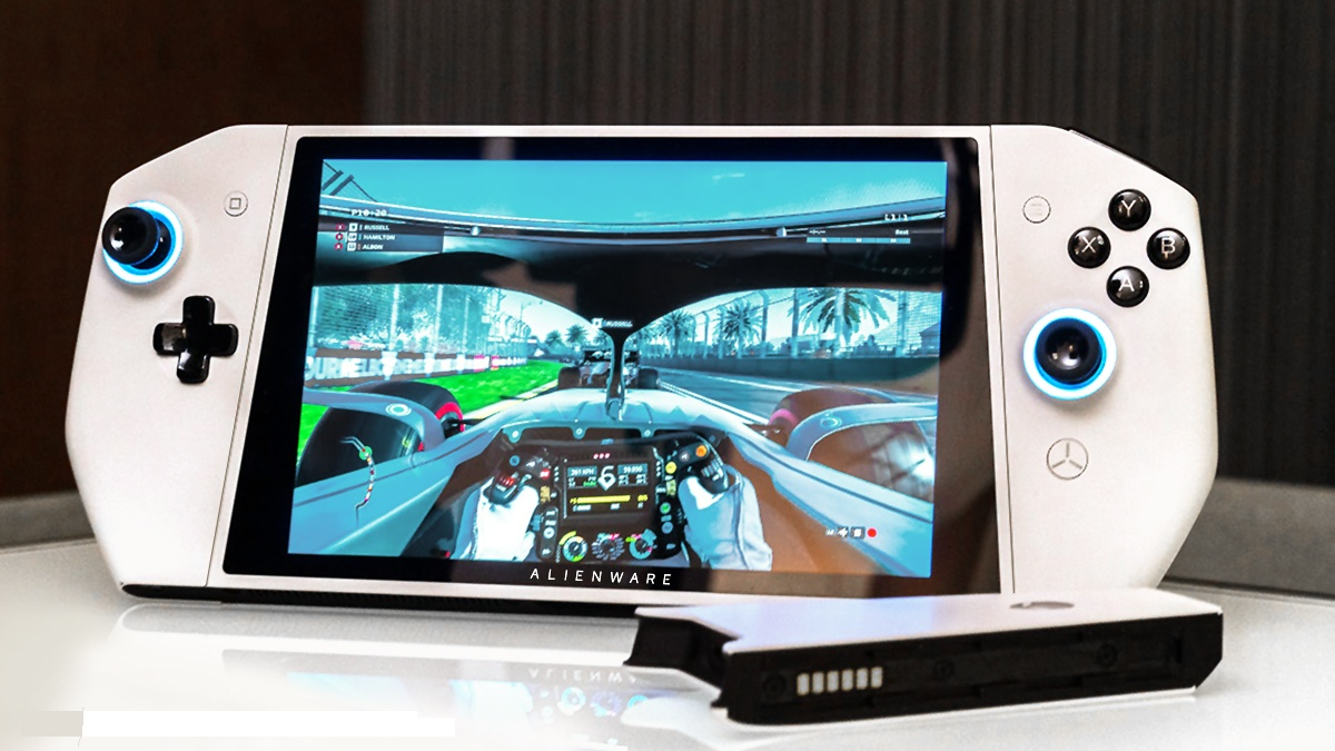 CES 2020: Alienware показала UFO — портативный PC в стиле Nintendo Switch