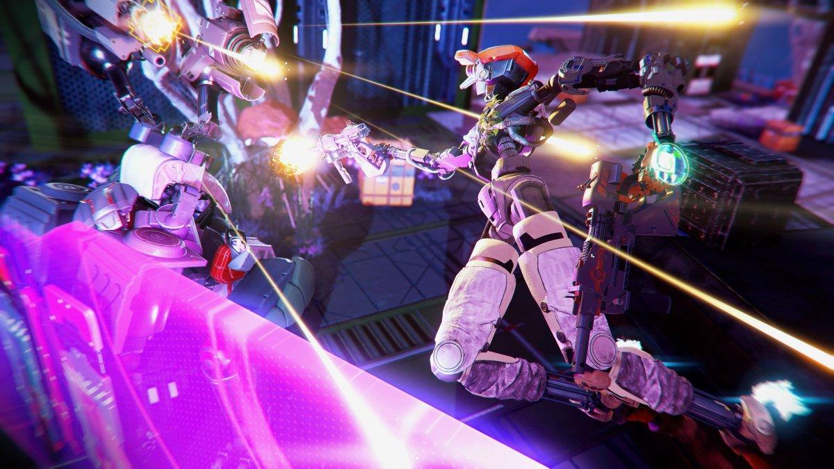 Робот спасает планету в релизном трейлере Stormland