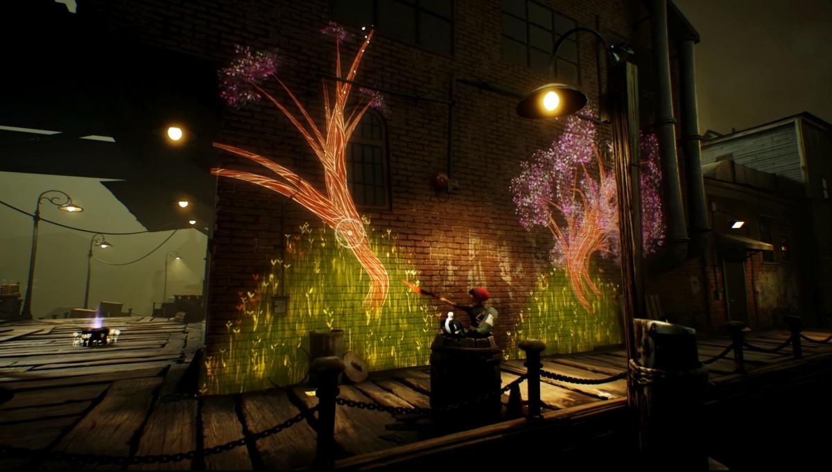 Игра Concrete Genie расскажет о волшебных граффити