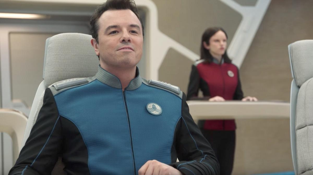 Вышел трейлер сериала «Орвилль», пародии на «Звездный путь»