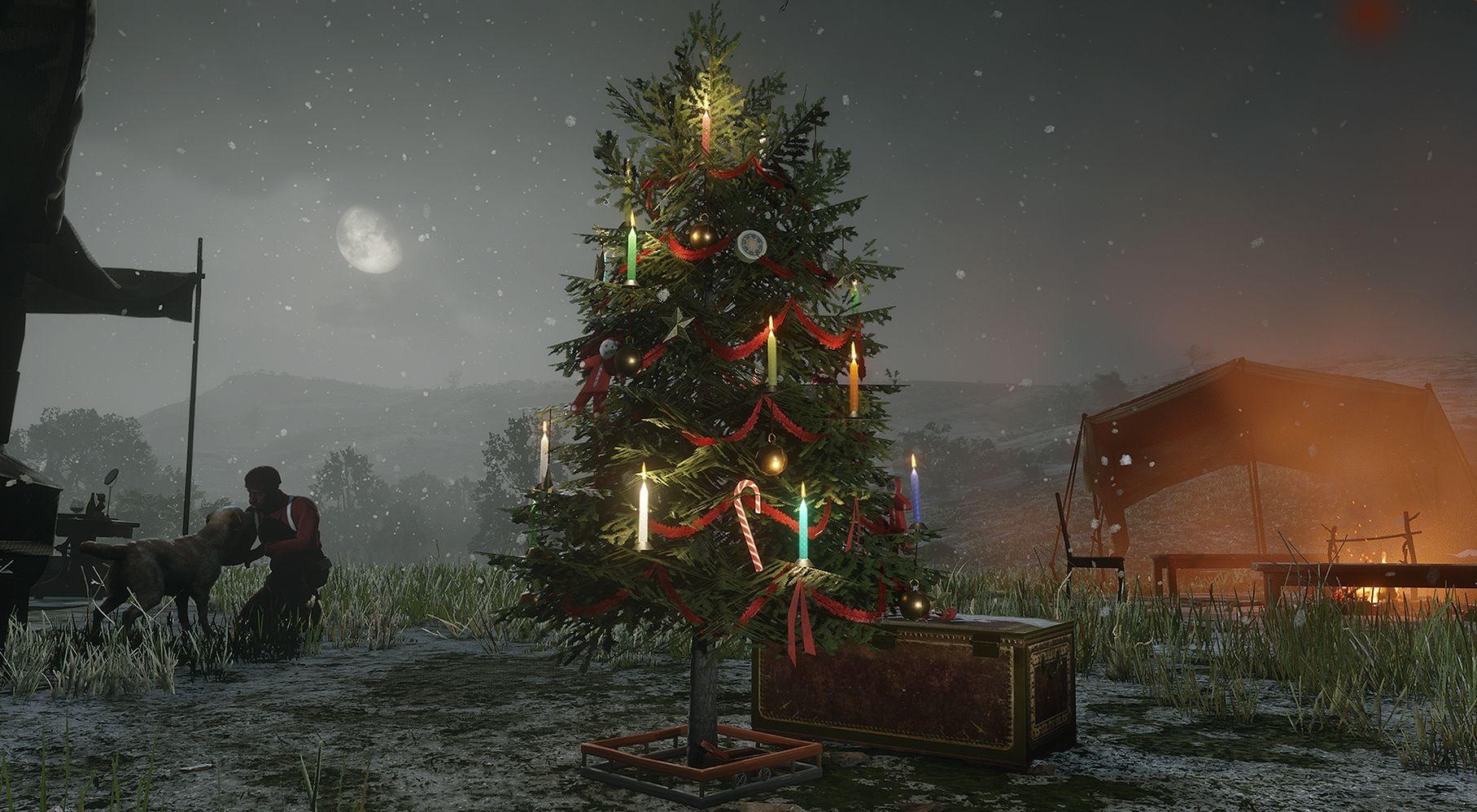 В GTA Online и Red Dead Online начались зимние праздники