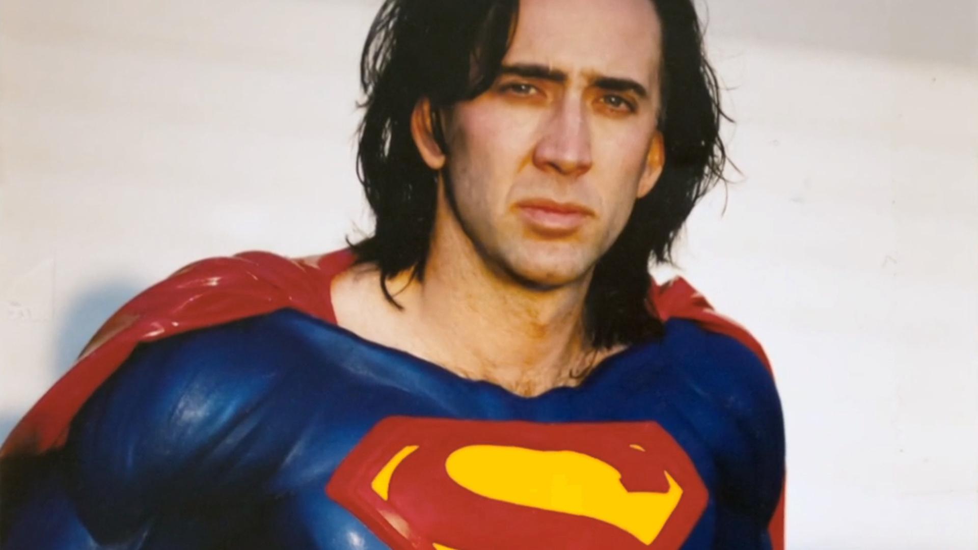 Слух: в сольнике Флэша может появиться Николас Кейдж в роли Супермена