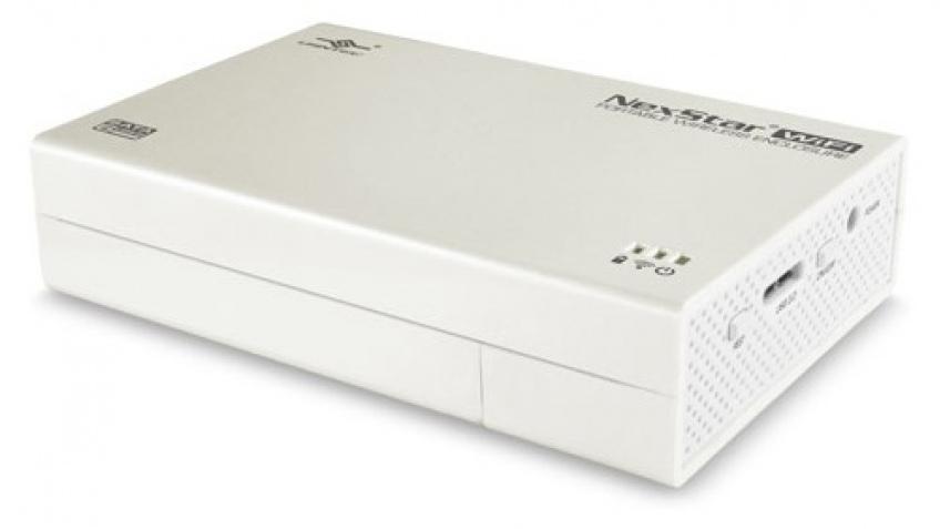 Корпус для HDD NexStar WiFi Enclosure передает данные по Wi-Fi