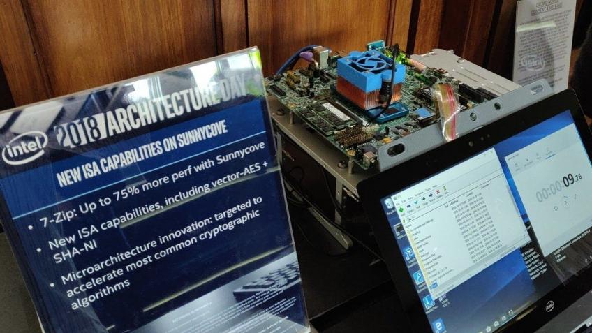 Intel показала прототип процессора Ice Lake