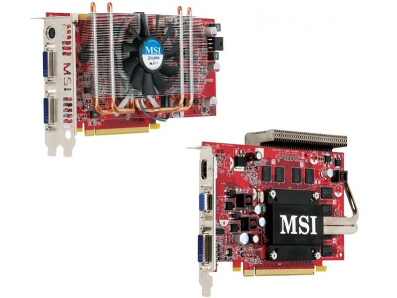 MSI готовит две модификации видеокарт NVIDIA