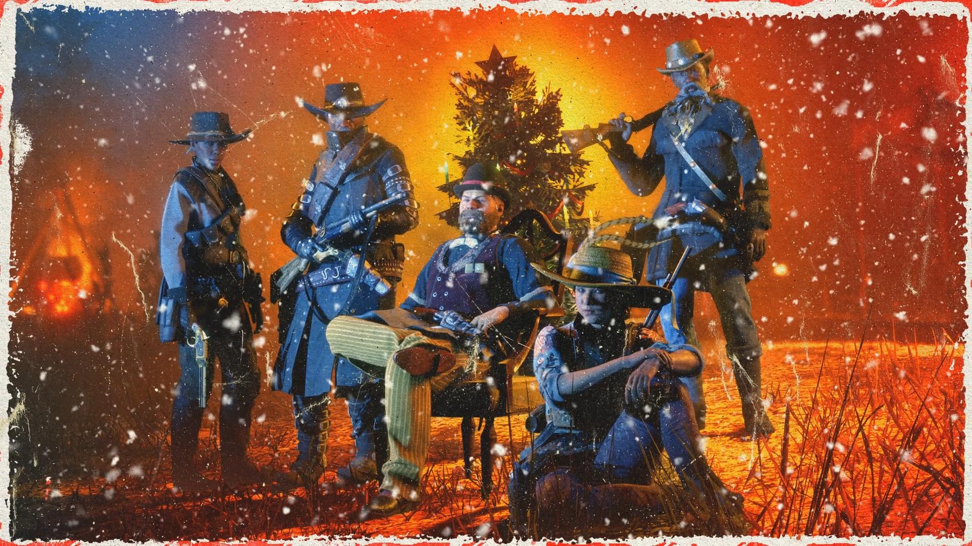 На Диком Западе выпал снег — в Red Dead Online начались зимние праздники