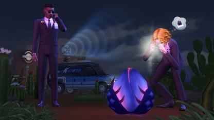 «The Sims4 Стрейнджервиль» превратит жизнь симов в нечто странное