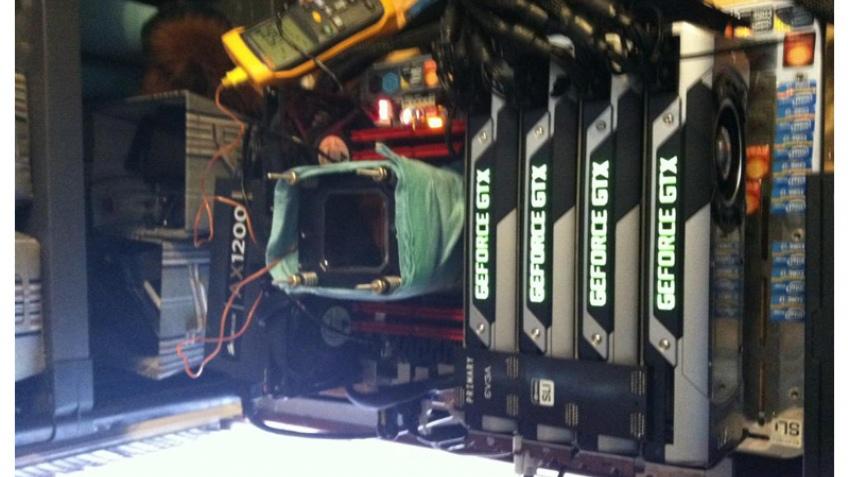 GeForce GTX Titan ставит рекорд без жидкого азота