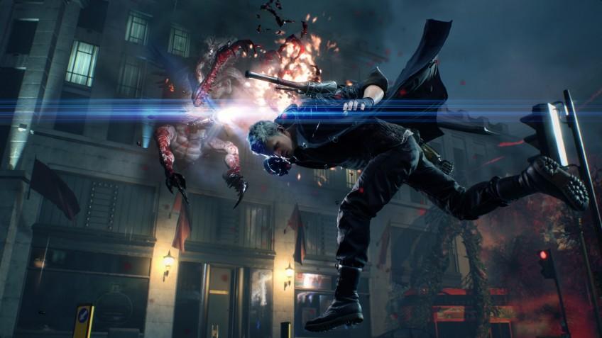 V против Данте: ещё один трейлер Devil May Cry5 посвящён новому герою
