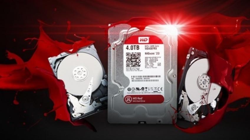 WD представила несколько дисков Red-серии
