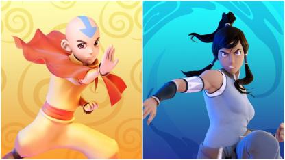 Аанг и Корра присоединились к ростеру Nickelodeon All-Star Brawl
