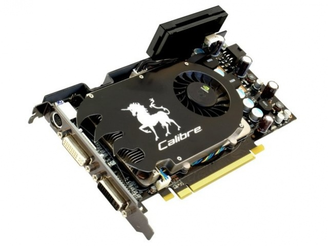 Тюнинг GeForce 8600 GTS от Sparkle