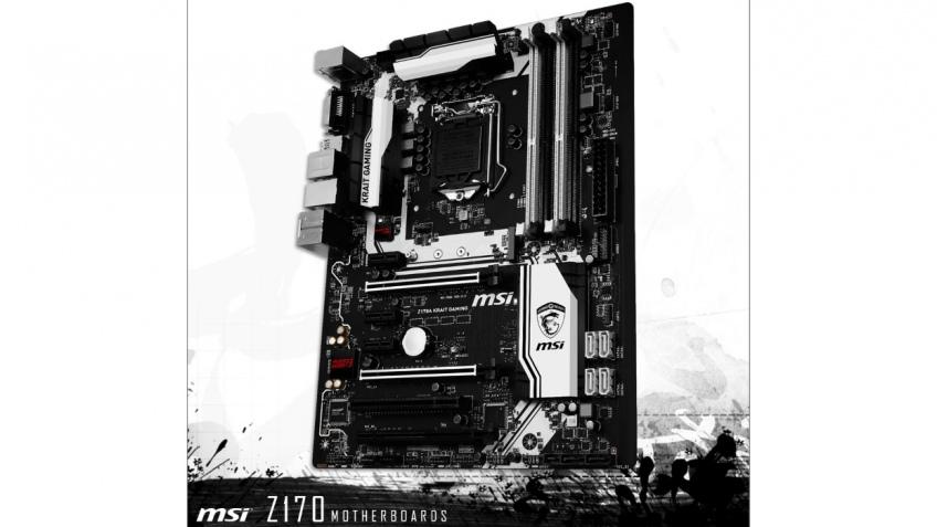 MSI готовит системную плату Z170 Krait Gaming