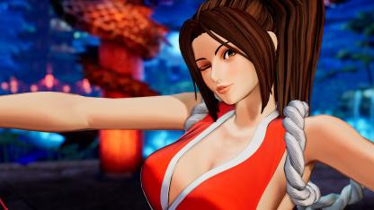 Новый трейлер и скриншоты The King of Fighters XV посвятили Мэй Ширануи