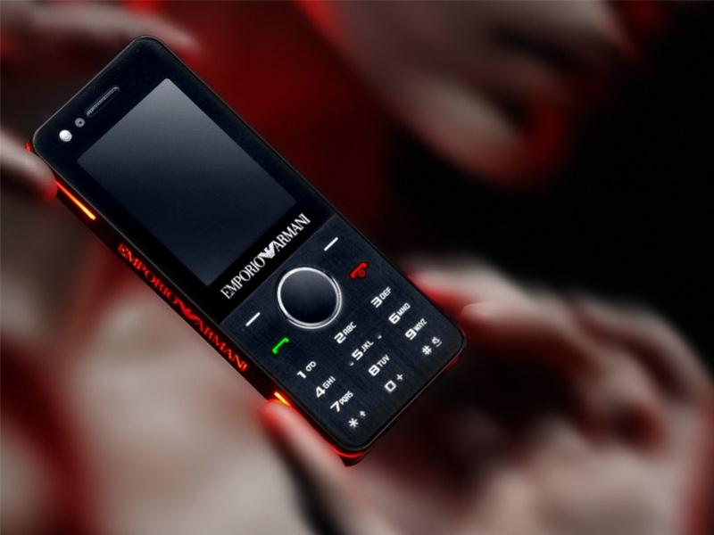 Новый стильно-фон от Samsung и Armani