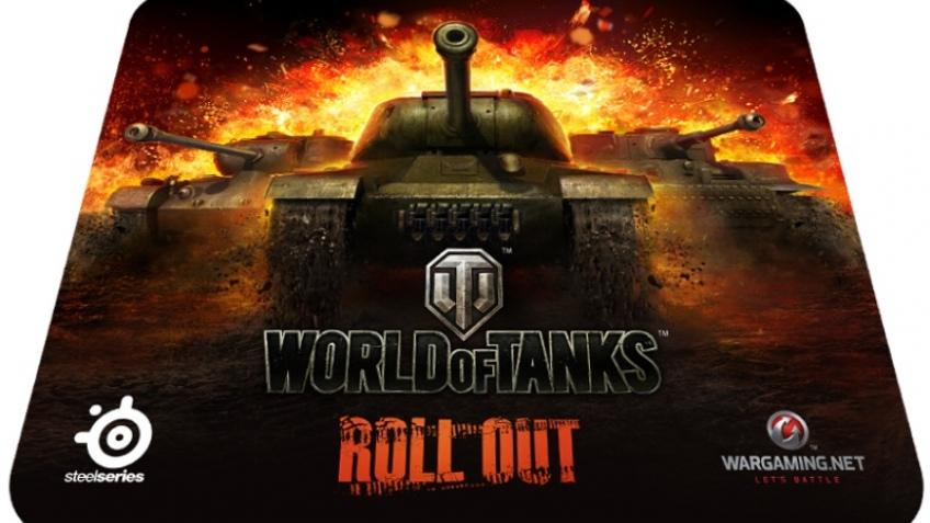 SteelSeries готовит коврики и мышь в стиле World of Tanks