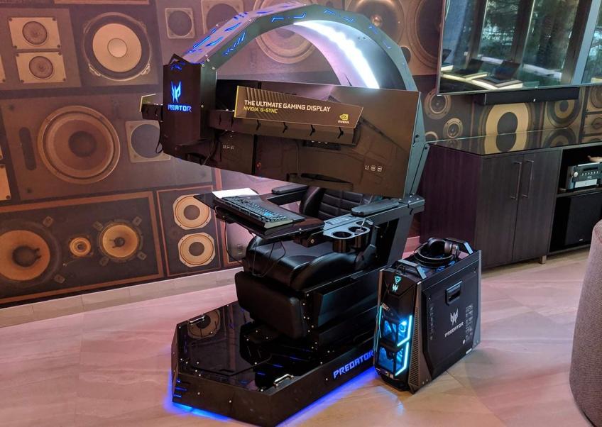 Acer показала «железный трон» для геймеров