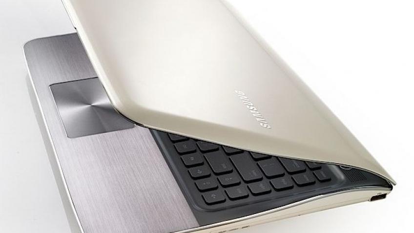 Samsung заигрывает с дизайном ноутбуков