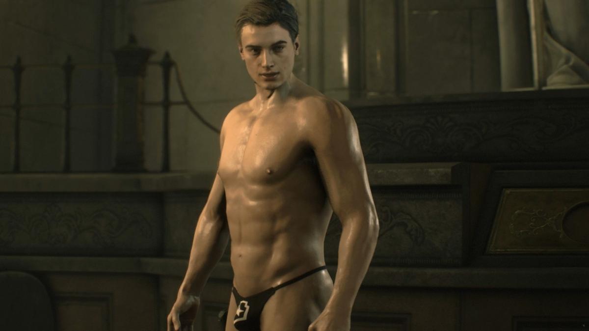 Тапочки для Тирана и стринги для Леона: моддеры меняют Resident Evil2