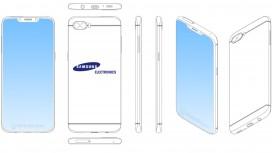 Samsung может выпустить смартфон с вырезом в верхней части экрана