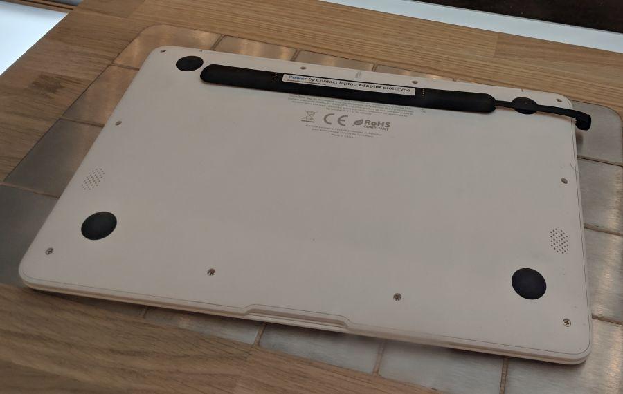 На CES 2019 представили беспроводную зарядку для ноутбуков