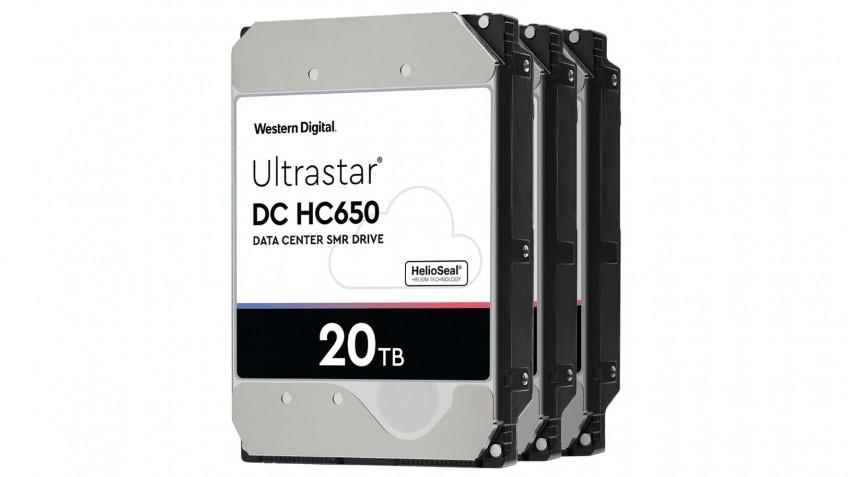 Western Digital готовит поставки жёстких дисков на 20 ТБ
