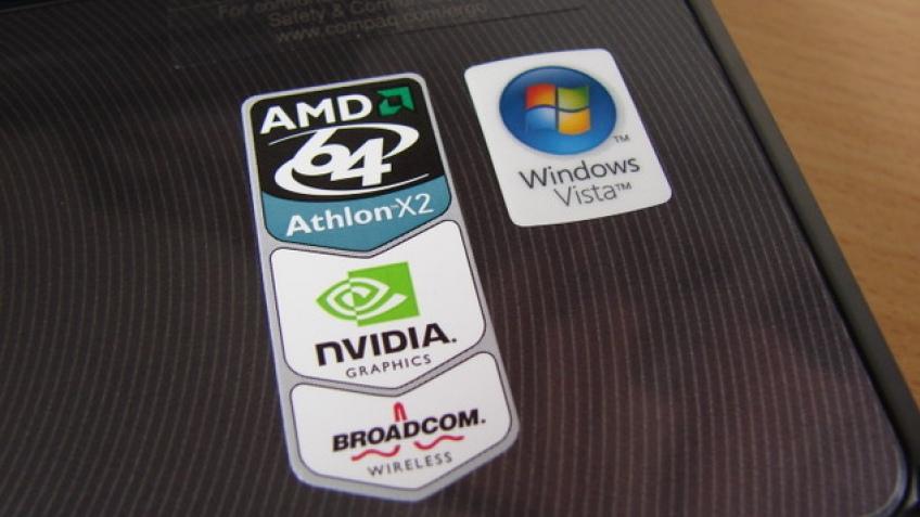 AMD исправит наклейки на ноутбуках?