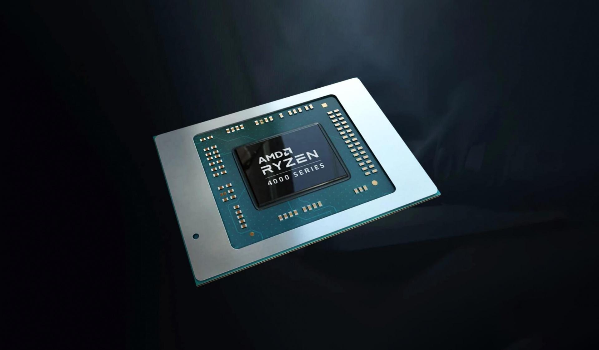 Мобильный процессор AMD Ryzen5 4500U демонстрирует впечатляющую производительность