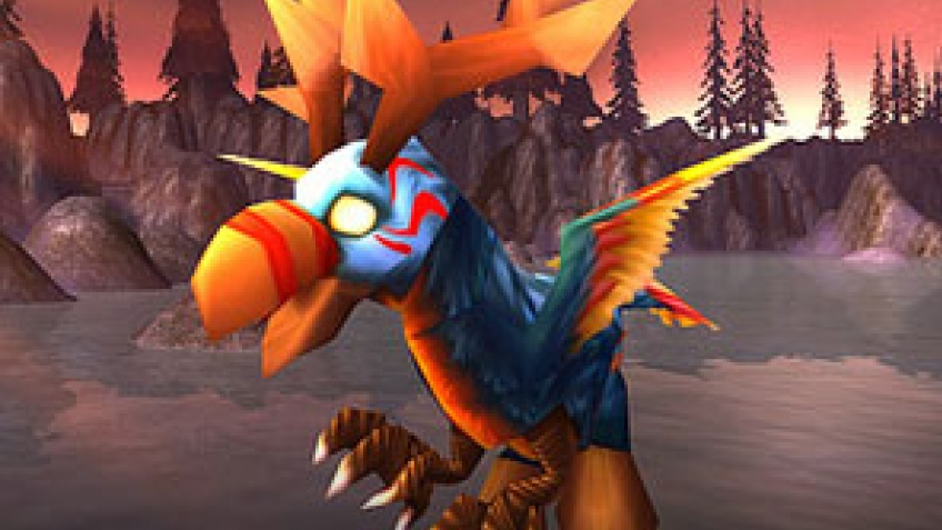 World of Warcraft. Гиппогриф спешит на помощь