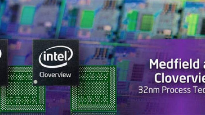Intel работает над 32-нанометровой платформой для планшетных компьютеров