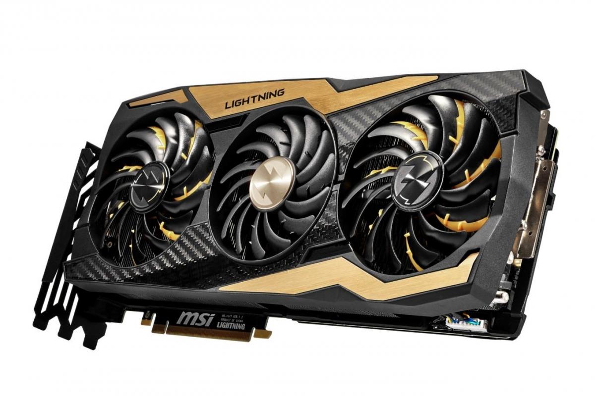 MSI GeForce RTX 2080 Ti Lightning Z — карта с заводским разгоном