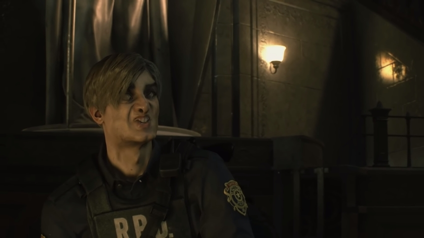 Ютубер выкрутил лицевые анимации в ремейке Resident Evil2 на 500%