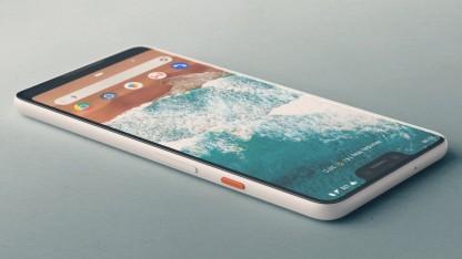 Опубликованы фирменные обои для смартфонов Google Pixel3 и Pixel3 XL