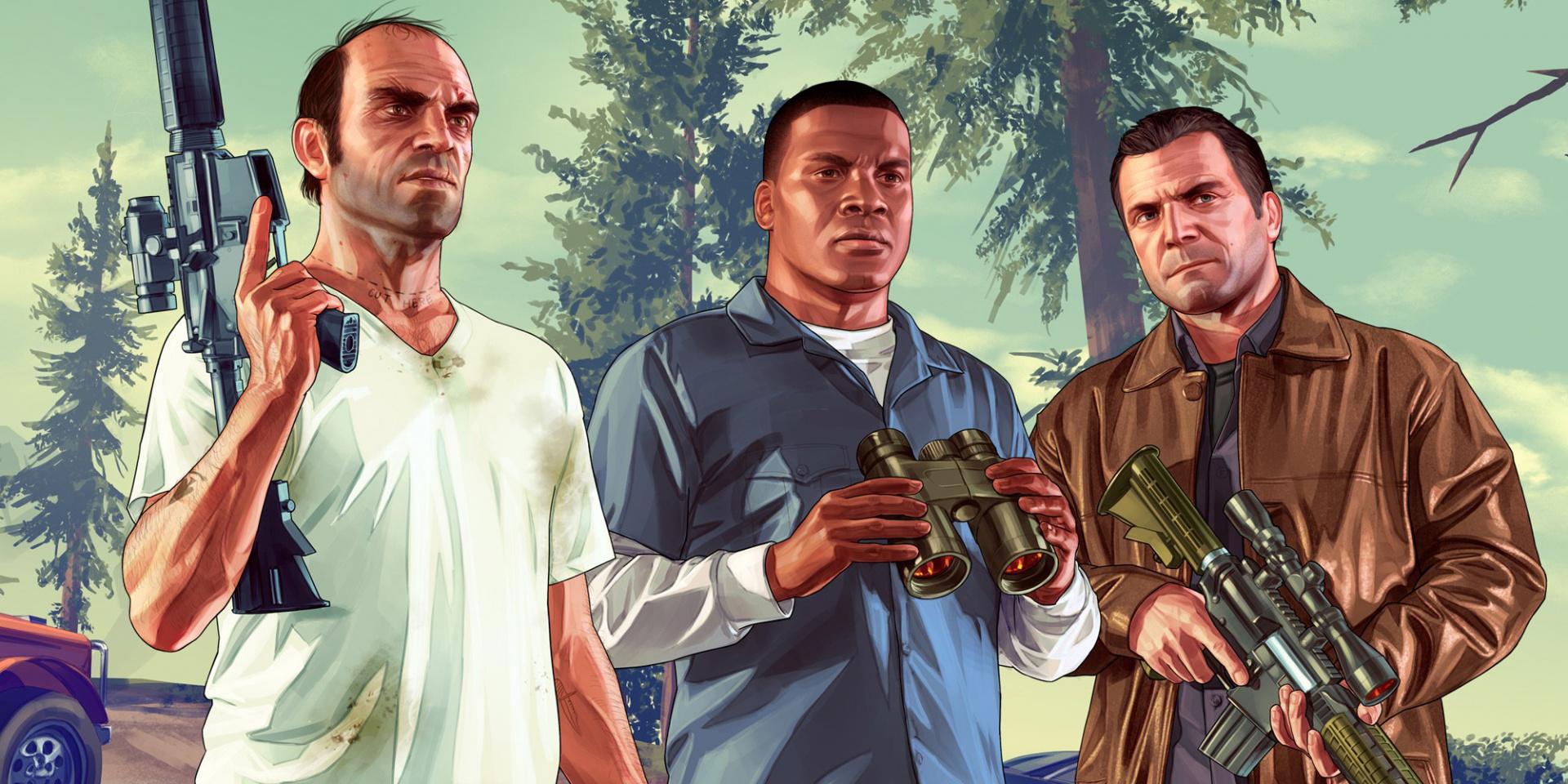 Герои Grand Theft Auto V за всю игру убивают как минимум 726 человек