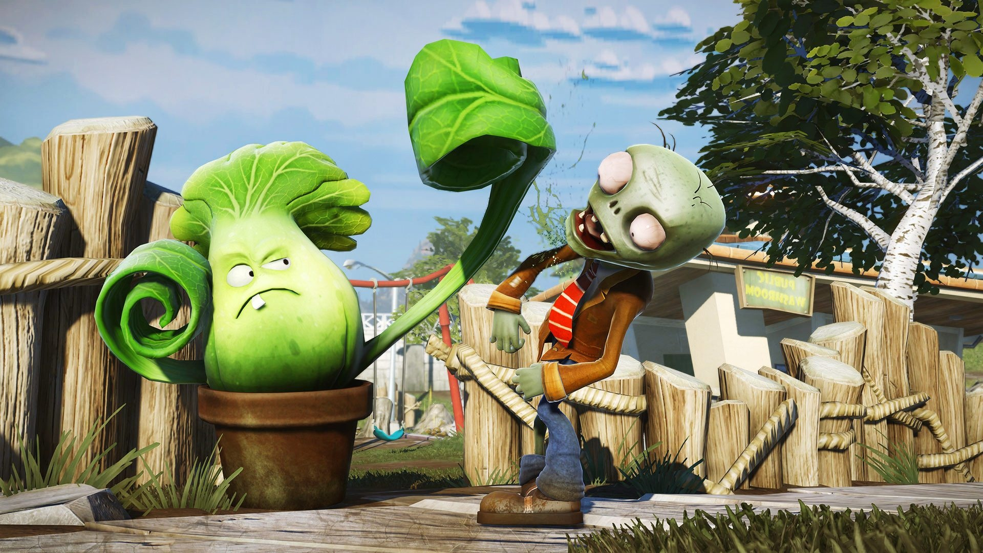 ЕА начала закрытое тестирование нового шутера по Plants vs. Zombies