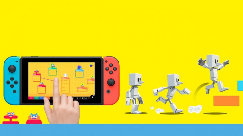 Nintendo анонсировала Game Builder Garage, где можно создавать игры для Switch