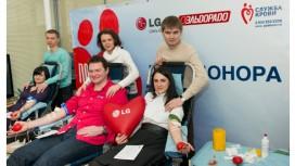LG Electronics и «Эльдорадо» провели День донора