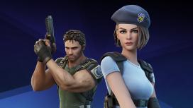 В Fortnite состоялся кроссовер с Resident Evil
