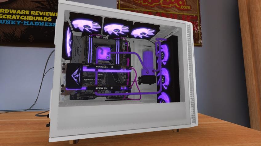 PC Building Simulator готовится покинуть ранний доступ