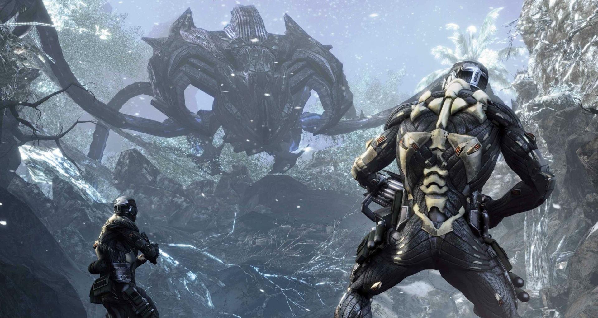 Crytek гифками показала особенности ремастера Crysis на Nintendo Switch