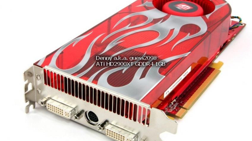 Radeon HD 2900 XT с1 Гб памяти